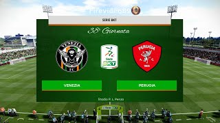 Pes 2020 Serie B • Venezia vs Perugia • 38° Giornata