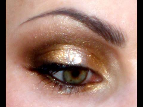 gold amp silver sparklechristmas makeup youtube
