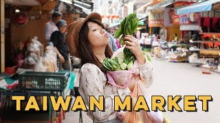 LIFE IN TAIWAN: Eating AUTHENTIC Taiwanese Street Food + Day Market Shopping