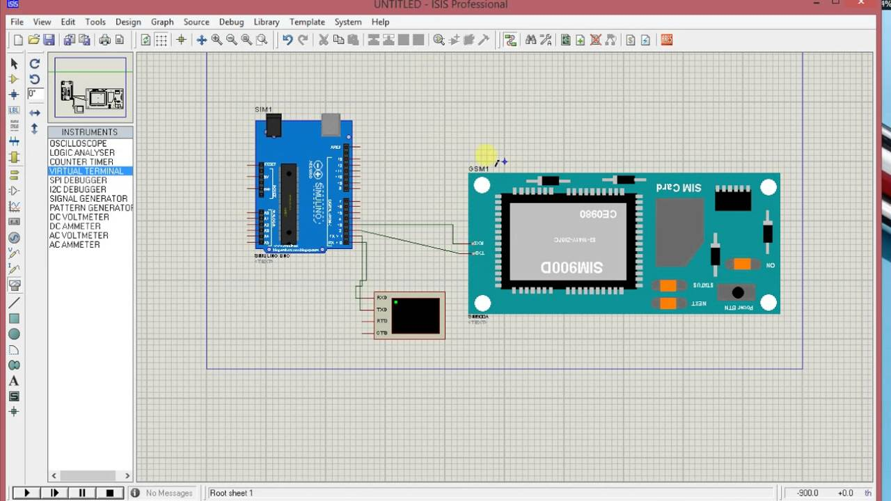 Gsm module SIM900 interfacing with arduino - The Electronics
