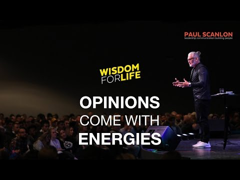 Leaders: Opinions come with energies