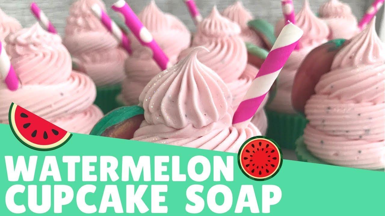 Making Watermelon Cupcake Soap | 🍉 Gypsyfae Creations