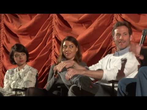 Kate Micucci, Aubrey Plaza, Jeff Baena The Little Hours Q&A 2 of 3