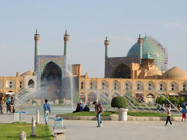 Isfahan - Irán 2a parte plaza Naqsh-e-Jahan y bazares