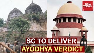 Supreme Court To Announce Ayodhya Verdict Tomorrow At 10:30 AM