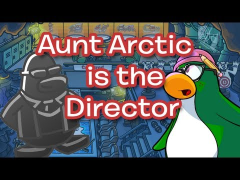 Club Penguin Operation Blackout Ending Video - AUNT ARCTIC IS THE DIRECTOR!!!
