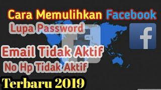 How To Recover And Repair Facebook Account New 2019