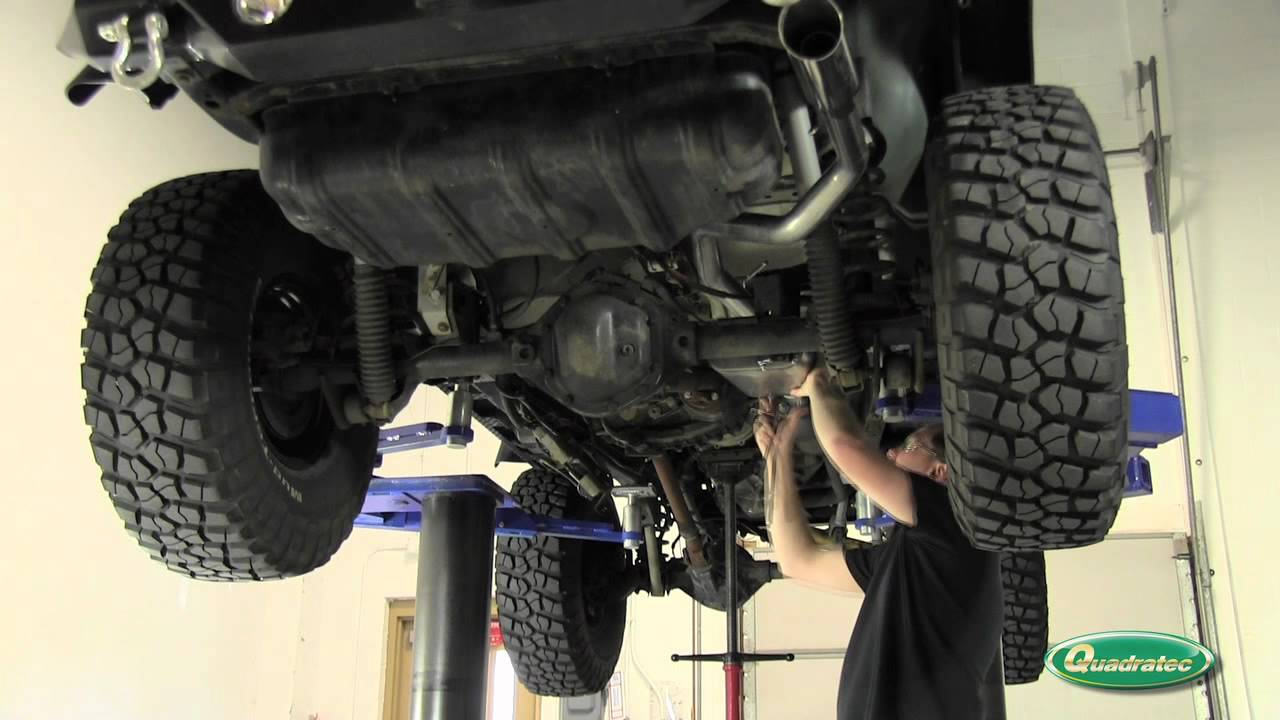 gibson performance cat back exhaust system for jeep wrangler tj youtube [ 1280 x 720 Pixel ]