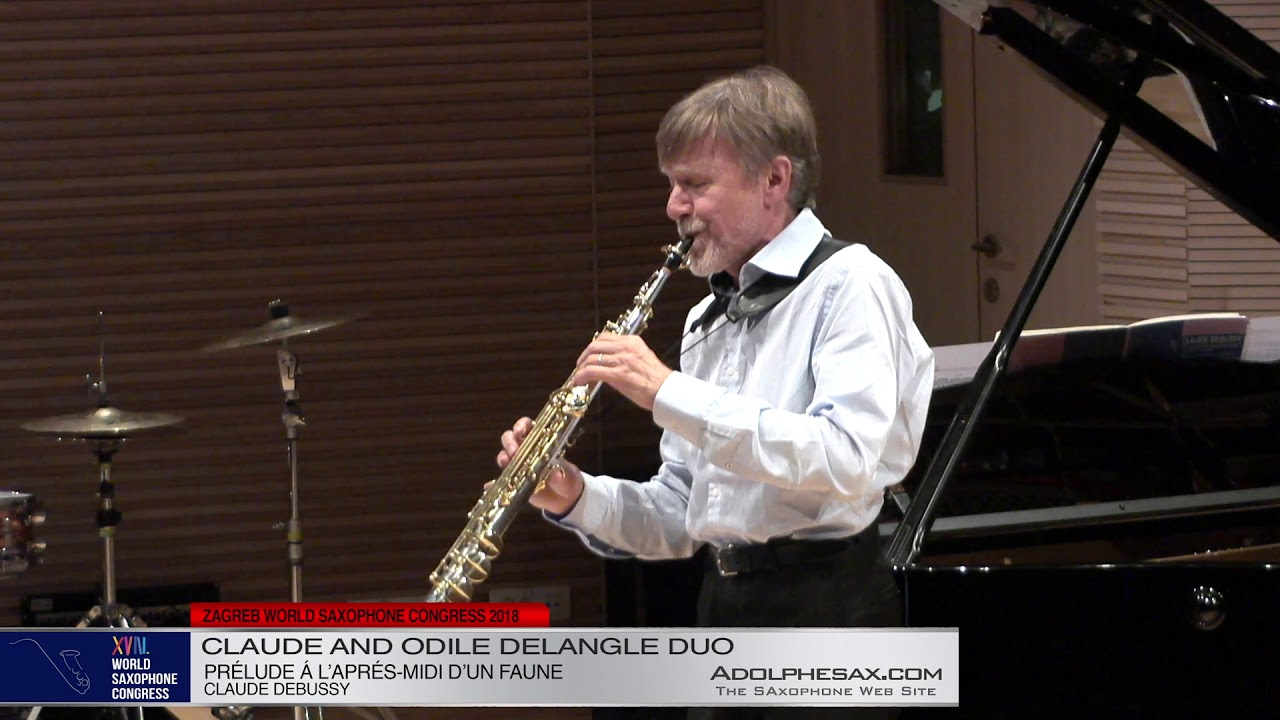Prelude a l´apres midi d´un faune - Claude and Odile Delangle Duo - XVIII World Sax Congress