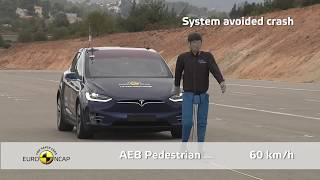Euro NCAP Crash & Safety Tests of Tesla Model X 2019