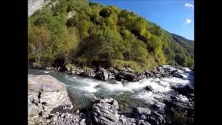 Ловим форель в горных реках Осетии. ч 3.