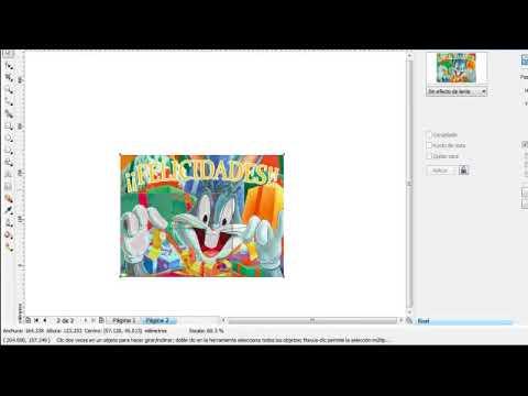Tarjetas De Cumpleaños Doble Cara Hechas En Corel Draw Parte 2