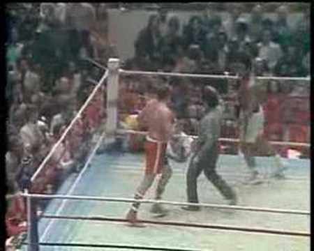 Muhammad Ali vs Chuck Wepner Round 15 (final round) 1975