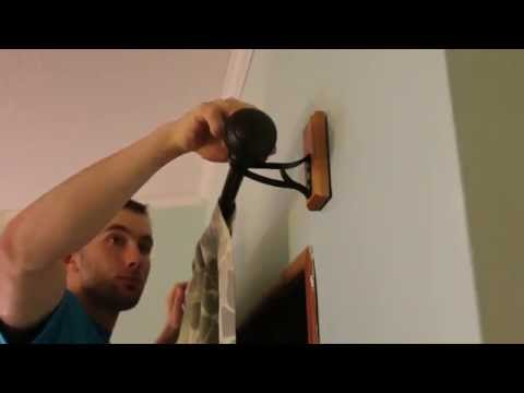 Hang Curtains in 2 minutes with Hang Easy!