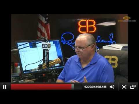 Rush Limbaugh on Scott Walker Taking on Establishment GOP