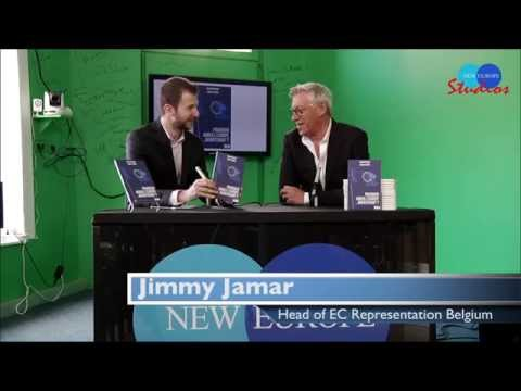 Jimmy Jamar, interview at New Europe Studios 16 April 2014