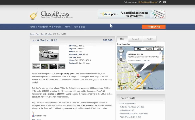how to make wordpress site live