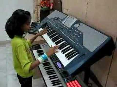 Gulabi Ankhen on Korg Pa800 Indian Hindi instrumental Song