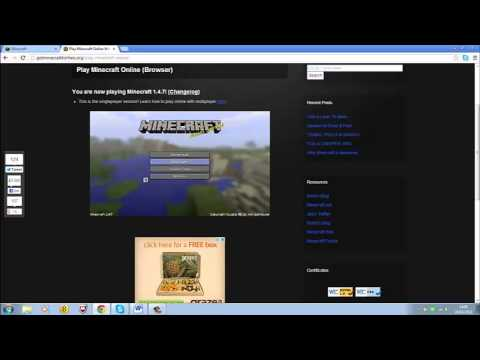 How to Play Minecraft for Free Online [NO DOWNLOAD] from YouTube · Duration:  7 minutes 55 seconds