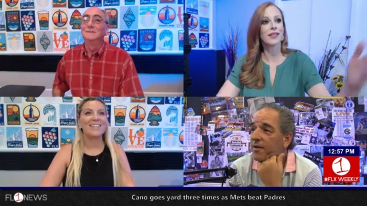 Geneva BID Director Mark Palmieri & last weekend of July .::. FLX Weekly w/ Jessica Lahr 7/24/19