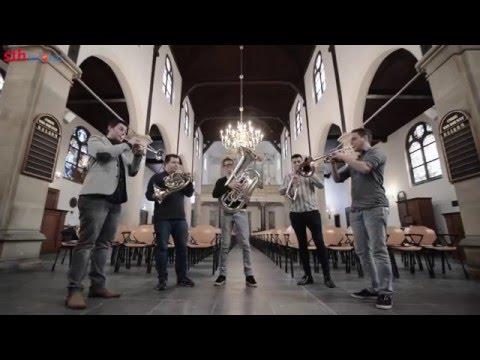 Promotiefilm CD 'Organic Brass' - Pelgrim Brass & Gerard van der Zijden