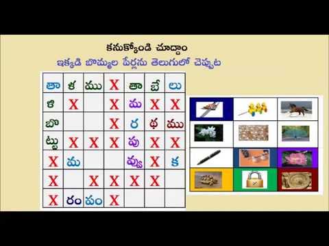 Teta Telugu Telugu Word Game Picture Game Find