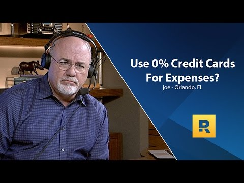 Should Use Apr Credit Cards For Expenses