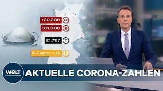 Auch am heutigen sonntag bleiben die corona-zahlen besorgniserregend hoch - und das, obwohl wochenende nicht alle gesundheitsämter ihre daten an das rober...