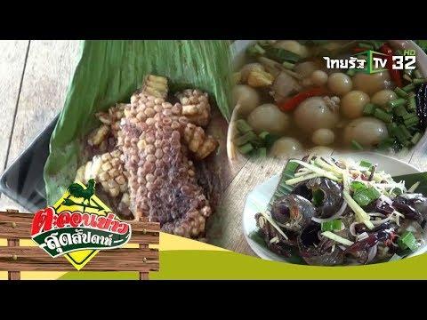 ชวนชิมอาหารอีสานและอาหารป่าสุดแปลก | ตะลอนข่าวสุดสัปดาห์ | 27-08-60 | 3/4