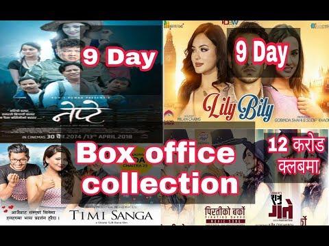 NEPTE// LILY BILY// TIMI SANGA// SHATRU GATE Nepali movie Box office collection 2018