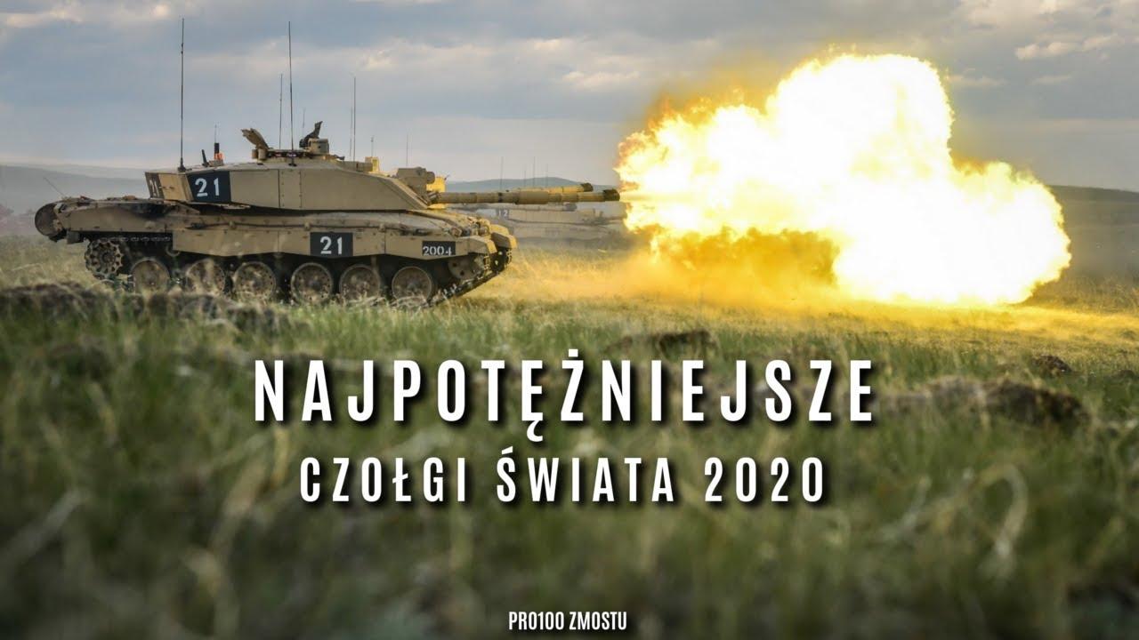 NAJPOTĘŻNIEJSZE CZOŁGI ŚWIATA 2020