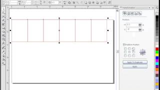 How to use Transformation in CorelDRAW