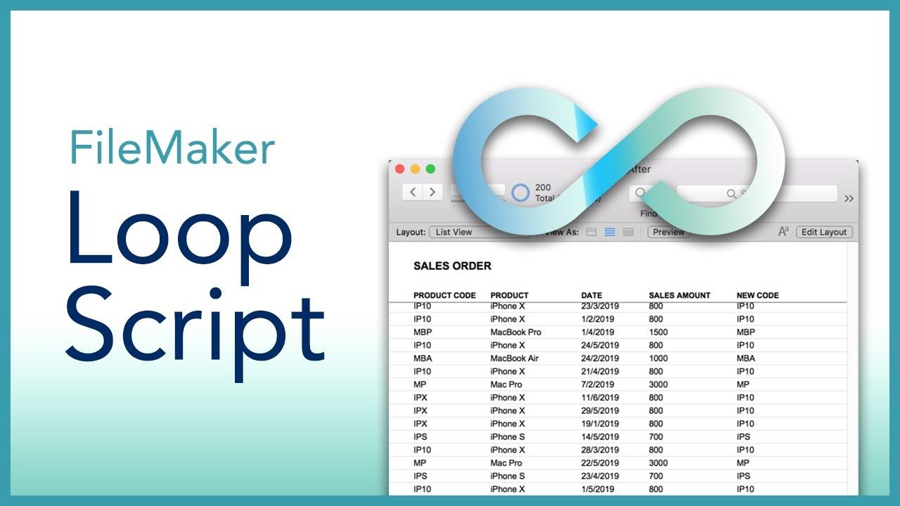 FileMaker Loop Script Tutorial
