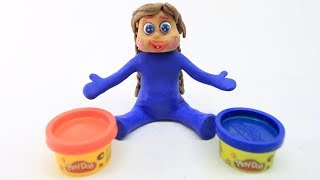 FUN PRINCESS BABY COLOR MIXER CLAY & PLAY DOH CARTOONS STOP MOTIONS