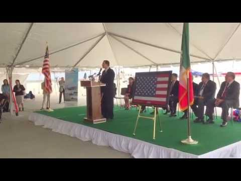 Laredo Bi-National Federal Inspection Services Facility Inauguration