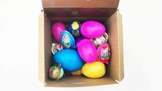 Unpacking Eggs Toys For Kids A Lot Of Eggs Video For Kids