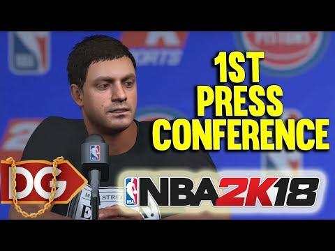 PRESS TRYING TO SHRED US ?? - NBA2k18 MyCAREER CENTER GAMEPLAY #14