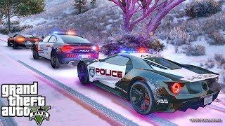 GTA 5 MOD LSPDFR 697 - SUPERCARS PATROL!! (GTA 5 REAL LIFE PC MOD)