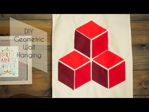 DIY Geometric Wall Hanging