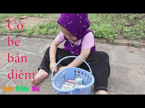 Bài học cho bé  cô bé bán diêm phiên bản mẹ ghẻ con chồng by fun kids su