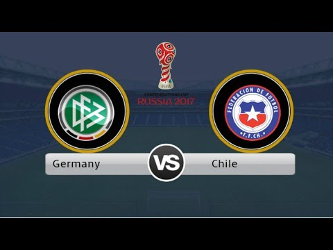 Chile vs Germany | FINAL | Gameplay PC & Full match | PES 2017