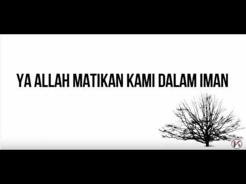 doa ditetapkan iman