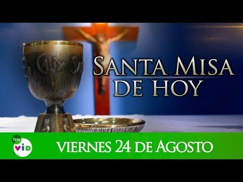 Santa misa de hoy viernes 24 de agosto de 2018, en honor a nuestra Señora de Fatima - Tele VID