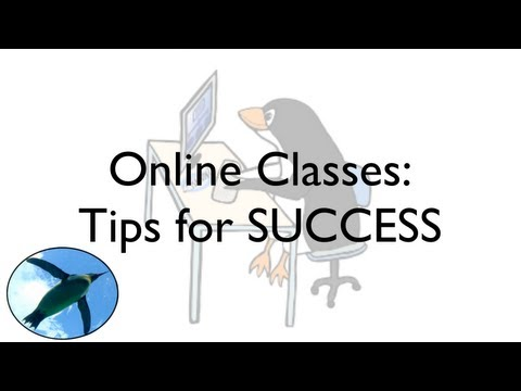 Online Classes:  Tips for SUCCESS