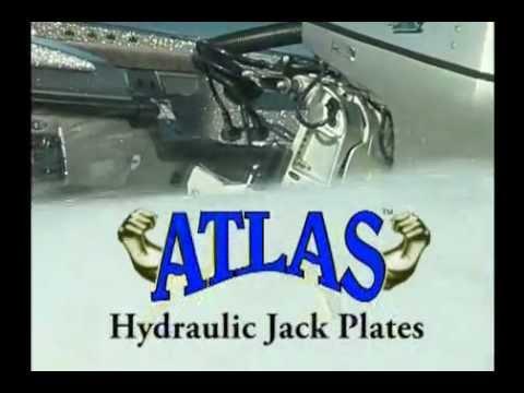 T-H Marine AHJ-4VHD-DP Atlas Heavy Duty Hydraulic Jack Plate-4 Setback