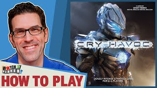 Cry Havoc - How To Play