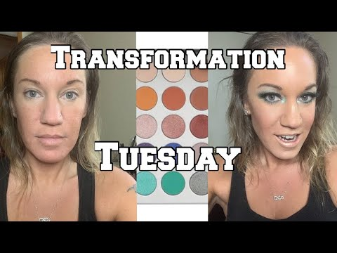 Transformation Tuesday|Jaclyn Hill Morphe Palette thumbnail