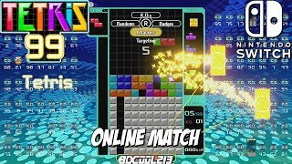 Tetris 99 Online Match Gameplay - Nintendo Switch Online