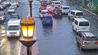 Heavy rain floods Metro Manila