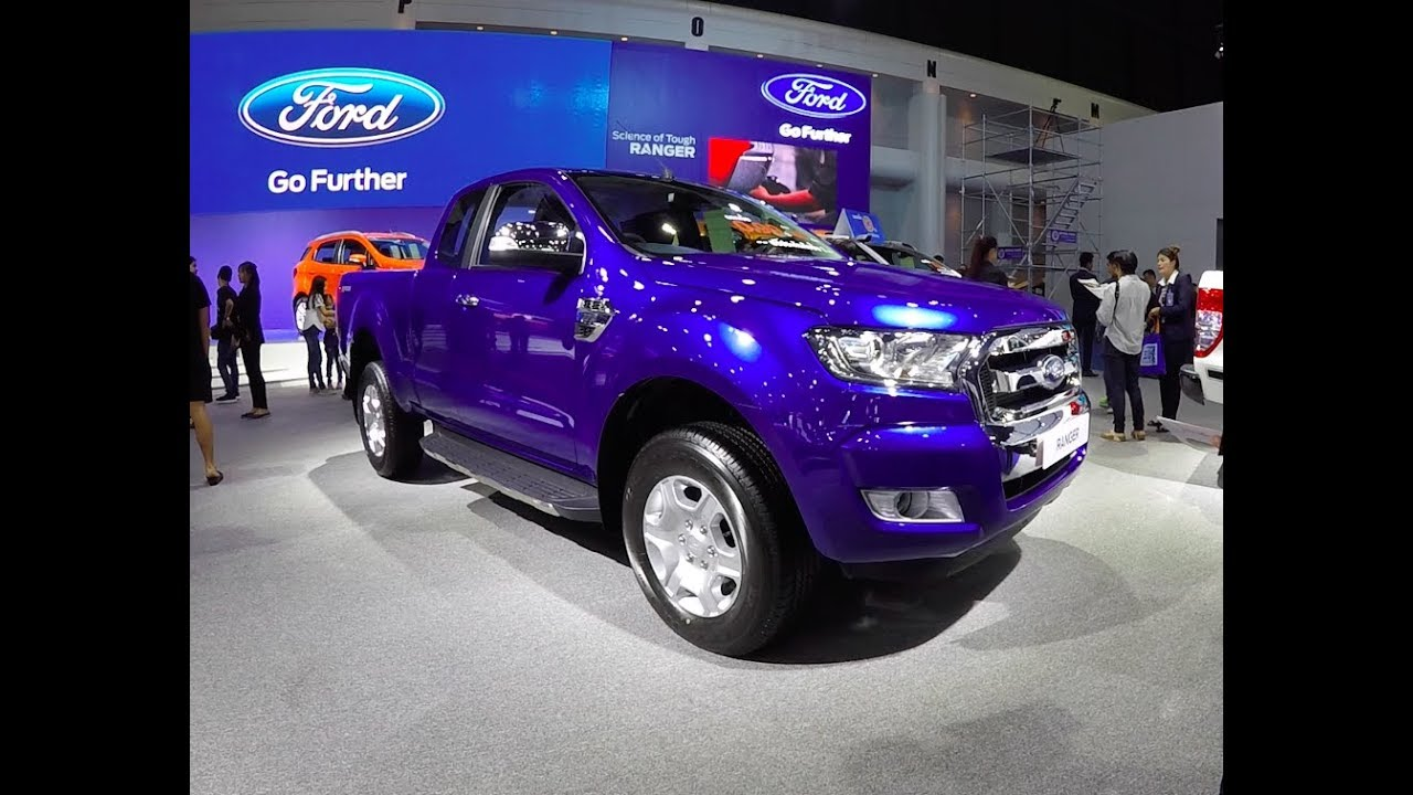 New 2018 Pickup Ford Ranger XLT 2018 Dark Blue - YouTube